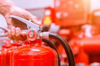 Назначение и устройство хладоновых огнетушителей