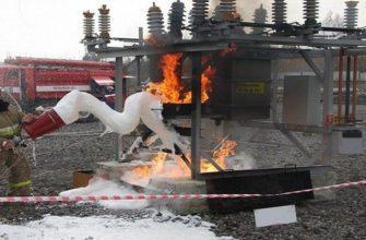 Оформление допуска на тушение пожара в электроустановках