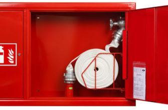 Основные требования к установке пожарных шкафов
