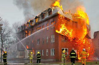 Характеристика и специфика тушения массового пожара