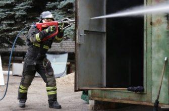 Как работает установка пожаротушения «Кобра»