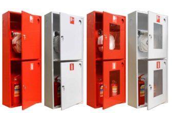 Шкафы пожарные для огнетушителей