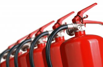 Учет огнетушителей в бюджетной организации
