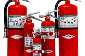 Технические характеристики огнетушителя ОБХ