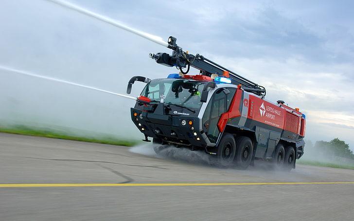Как работает аэродромный пожарный автомобиль