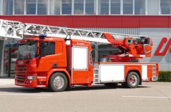 Технические характеристики пожарной машины Scania