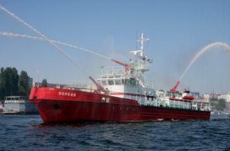 Виды и назначение пожарных кораблей