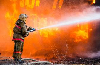 Методика построение совмещенного графика тушения пожара