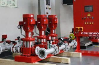 Принцип работы и преимущества станции пожаротушения Grundfos