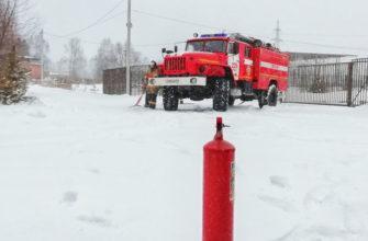 Тактика действий пожарной охраны в условиях возможного взрыва