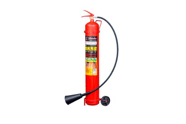 Применение и устройство огнетушителя углекислотного ОУ-7